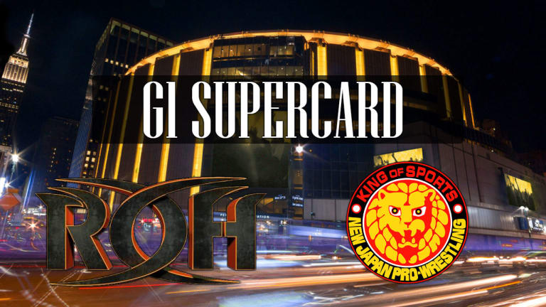 the promotional poster for the g1 supercard