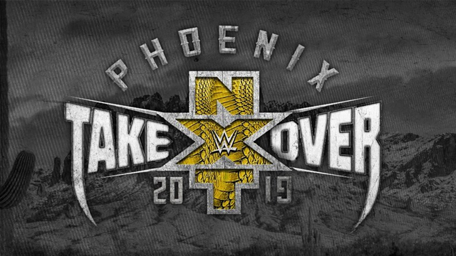 the promotional poster for NXT Takeover Phoenix