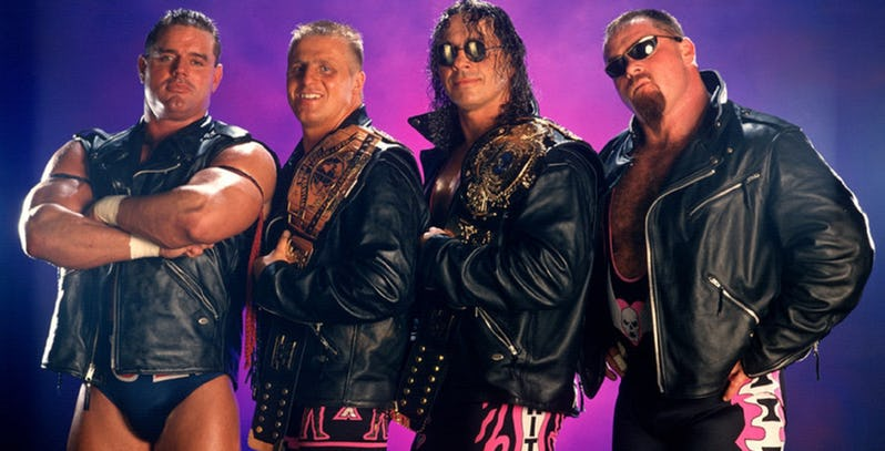 the hart family in wwe in 1997
